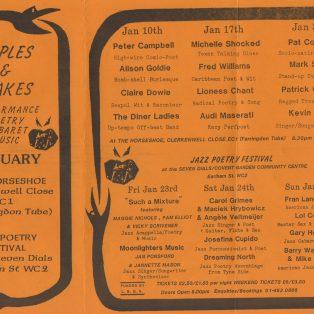 Jazz Poetry Festival 1
