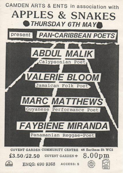 Pan-Caribbean Poets