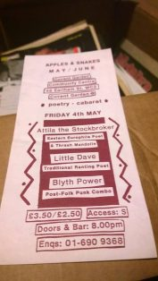 Attila the Stockbroker, Little Dave, Blyth Power