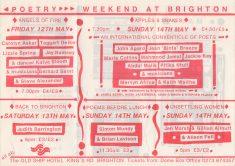 Poetry Weekend at Brighton Festival