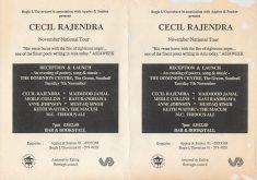 Cecil Rajendra Tour