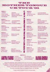 Mother Tongue UK Tour '91- (Perf 8)