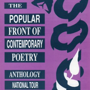 Popular Front of Contemporary Poetry Tour - (Perf 3)