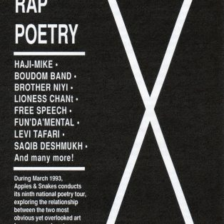 Rapoetry - Ninth National Poetry Tour - (Perf 5)