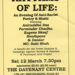 Rhythms of Life - A Benefit for the Tower Hamlets 9