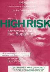 High Risk Tour - (Perf 8)