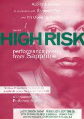 High Risk Tour - (Perf 5)