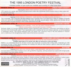The 1995 Poetry Festival - (5/6)