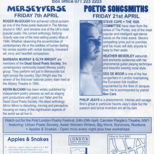 Poetic Songsmiths