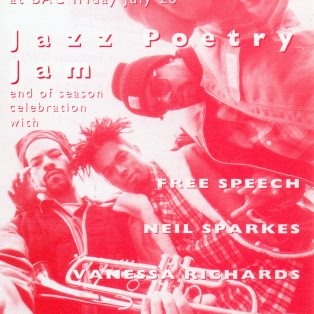 Jazz Poetry Jam - (End of Season Celebration)