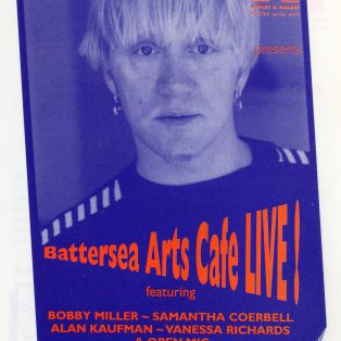 Battersea Arts Cafe Live! (featuring American slam poets)