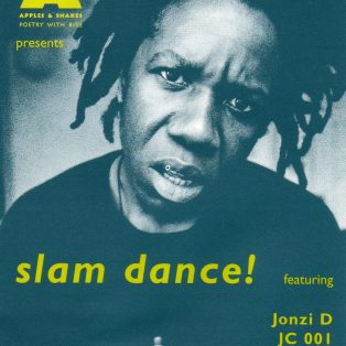 Slam Dance! | Flyer design by PASSION 4; Photo by Robb Hann