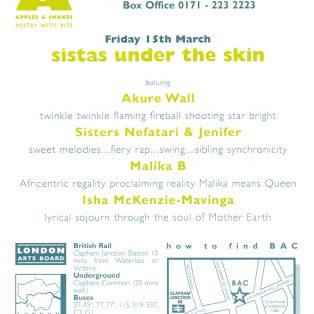 Sistas Under the Skin