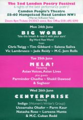 Big Word - The 2nd London Poetry Festival - (Perf 1)