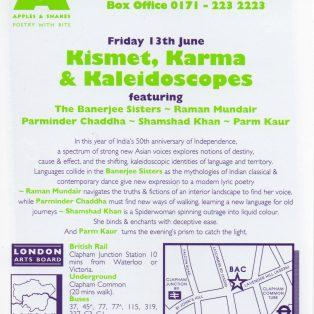 Kismet, Karma & Kaleidoscopes