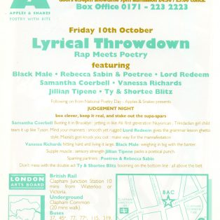 Rap meets Poetry 1 - Lyrical Throwdown