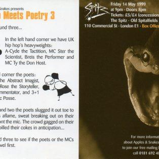 Rap Meets Poetry 3