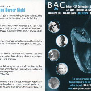 Psycho Horror Night