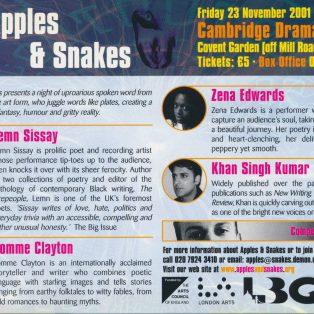 Apples & Snakes
