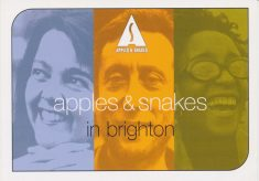 Apples & Snakes in Brighton