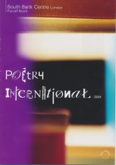 Poetry International