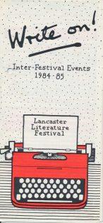 Write On! (Lancaster Literature Festival)