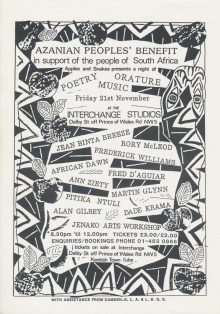 Azanian People''s Benefit