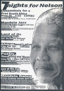 Night of Poems for Liberation in the '90s