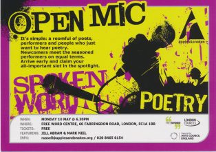 Open Mic @ Freeword