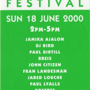 Midsummer Poetry Festival (2000)