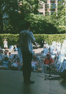 Photos of Midsummer Poetry Festival 2000
