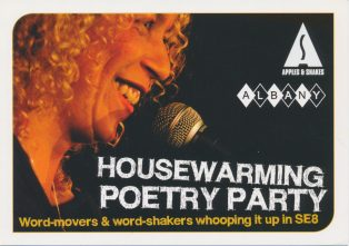 Housewarming Poetry Party