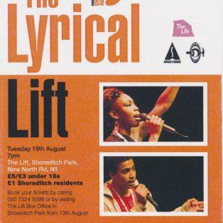 The Lyrical Lift