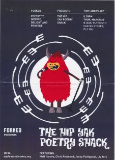 Forked presents Hip Yak Poetry Shack