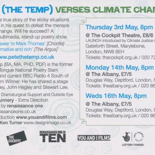 Pete Temp Climate Change