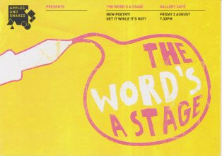 The Word's a Stage