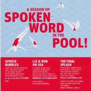 Spoke Splash Liz Rob Sea