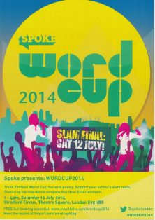 Spoke: Word Cup 2014 Slam Final