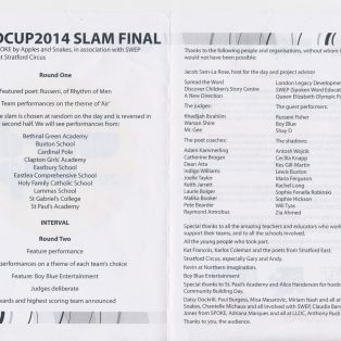 Spoke Word Cup