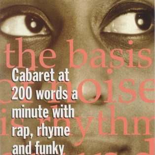 Cabaret at 200 Words a Minute