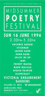 Midsummer Poetry Festival 1996