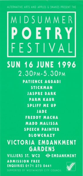 Midsummer Poetry Festival 1996
