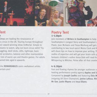 Southampton Live: Poetry Tent