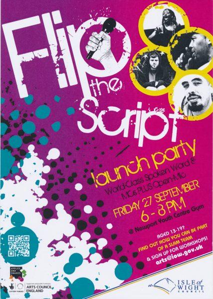 Flip the Script: Launch Party