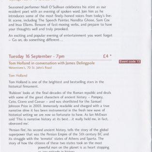 SW11 Literary Festival: Poetic Frenzy